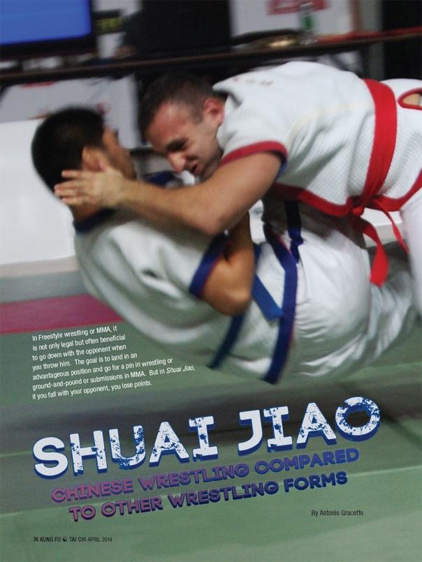 Shuai Jiao in Kung Fu Magazine